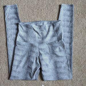 Onzie Snakeskin Yoga Pants